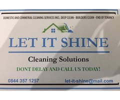 Cleaning Services - Deep Clean - End of tenancy - Builders Clean