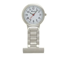 Ravel Nurses Doctors Paramdeic Carers Watch Silver Fob Watch R110