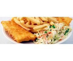 Get the Cheap fish and chips delivery near me in Ashford