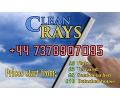 WINDOW CLEANING JUST FROM £5