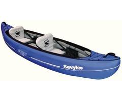 SEVYLOR CANYON sc320 new 2 man canoe / kayak