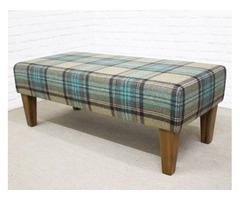 Footstools & More Provides Custom-made Hallway Bench Stools