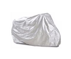 Motorcycle Rain UV Dust Cover Dust Bike Protector XXL Silver