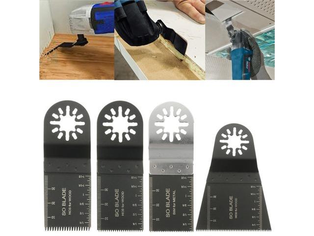 4pcs Oscillating Saw Blades Multitool For Fein Multimaster Bosch