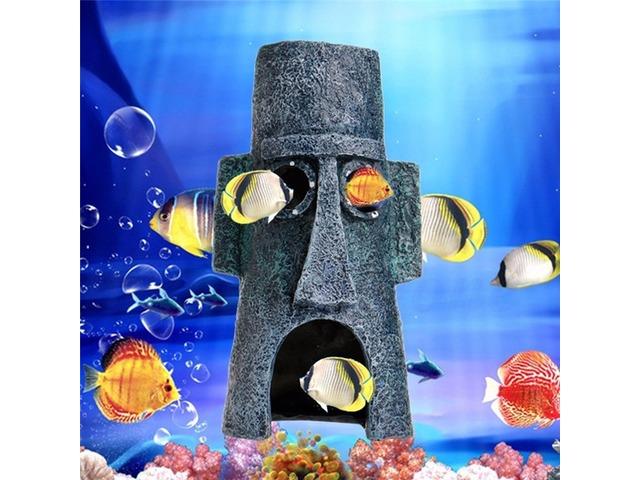 Aquarium Landscaping Decoration Aquatic Animals House Home Fish Tank Ornament | FreeAds.info