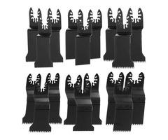 20pcs Oscillating Multitool Saw Blade Set For Fein Multimaster Dremel Makita Bosch