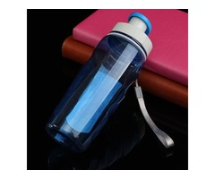 My Water Bottle Plastic Sports Space Cup Protein Shaker for Outdoor Camping