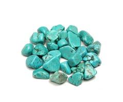 100g Blue Turquoise Mineral Specimen Body Healing DIY Design Fingdings