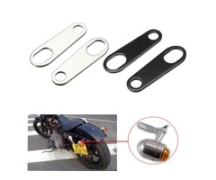 Motorcycle Turn Signals Brackets Indicator Relocation For Harley Honda Suzuki