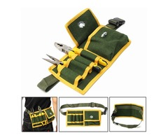 Multifunctional Tool Bag Pouch Holder Electrician Waist Pack Belt Work Bag