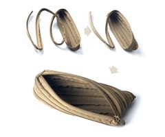 EDC Debris Pouch Outdoor Fishing Survival Paracord Zipper Bag Sports Parachute Cord Rope Handbag