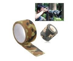5x500/1000cm Waterproof Military Camouflage Camo Tape Stealth Wrap for Hunting Camping
