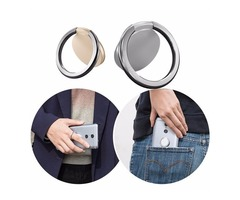 Original Xiaomi 360 Rotation Anti-drop Finger Ring Phone Stand Holder for iPhone Samsung Xiaomi HTC