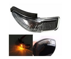 Driver Left Rear View Side Mirror LED Turn Signal Light for Toyota Yaris