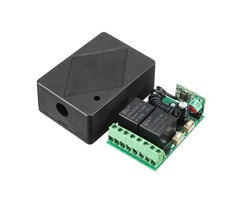 DC 12V 10A 2CH 315MHz Wireless Relay RF Remote Controller Receiver Independent Output