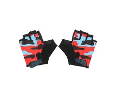 Medium Finger GlovesKids Half Soft Finger Gloves For Racing 4-10 Years Children