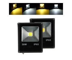 30W Waterproof IP65 White/Warm White LED Flood Light Outdoor Garden Security Lamp