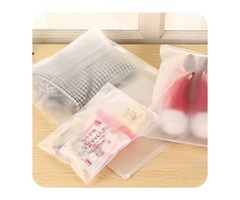 Thicker Transparent Waterproof Clothes Storage Bag Travel Wash Protect Cosmetics Plastic Storage Bag