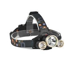 XANES 739 1200 Lumens T6+XPE LED Bicycle Headlight Outdoor Sports HeadLamp 4 Modes Adjustable