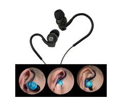Langsdom SP80A Sport Waterproof Noise Cancelling Wired Control In-Ear Headphone Earphones with Mic