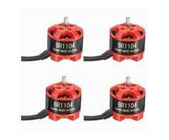 4 X Racerstar Racing Edition 1104 BR1104 7000KV 1-2S Brushless Motor for 100 120 150 for RC Drone FP