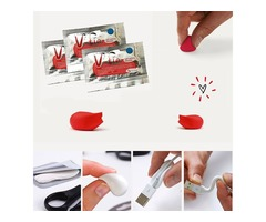 3pcs V-tie KT057 Glue 5 Colors Almighty DIY Fixing Silicone Rubber Repair Tools