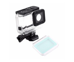 Waterproof Housing Case Rear Cover Touch Back Door LCD Screen for Gopro Hero 5