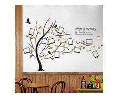 Honana DX-131 90X60CM Creative Photo Frame Tree wall Stickers Bedroom Home Decoration