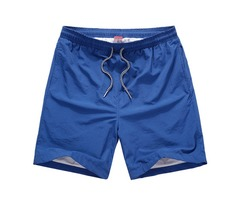 Summer Mens Casual Breathable Fast Dry Five Points Pants Sports Beach Shorts