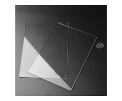2pcs 225x155x3mm Acrylic Sheets Transparent Acrylic Sheets Cutting Carving Plates