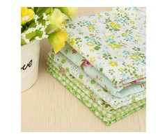 "6PCS 10"" Squares Quilt Fabric For DIY Craft Pre Cut Cotton Fabric Patchwork"