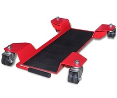 vidaXL Motorcycle Dolly Centre Stand Red - 141972 New