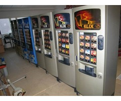 Klix vending machines, 41 pcs, 400, 600 (hot) & OutLook