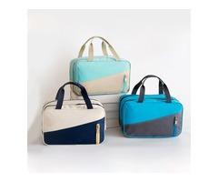 Waterproof Travel Storage Bag Dry Wet Separation Outdooors Hang Bag Nylon Cosmetic Wash bag