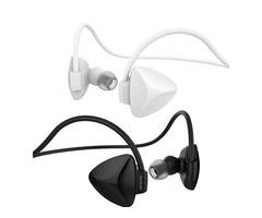 OVEVO SH03B Bluetooth Wireless Stereo 4.0 Sport Headphone Dual Back Earphone