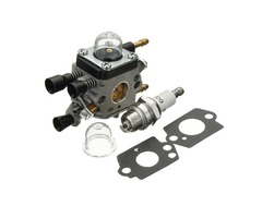 Motorcycle Carburetor Spark Plug Kit For Stihl BG45 BG55 BG65 BG85 SH55 Blower Zama C1Q-S68G