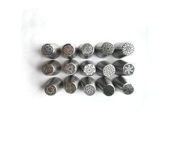 Honana 15Pcs Set Stainless Steel Russian Flower Piping Nozzles Kitchen Cake Converter Pastry Decor