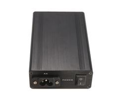 DIY T12 Digital Soldering Iron Station Aluminum Black Shell Case Power Socket Switch