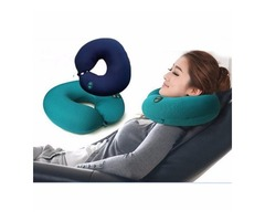 Honana WX-482 USB & Battery Powered Multi-function Electric Massage U-pillow Cervical Massage Pillow