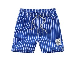 Summer Mens Fashion Stripe Shorts Casual Beach Shorts Pants