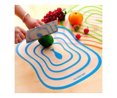 Plastic Antibacterial Cutting Board Non-slip Frosted Translucent Fruit Vegetable Chopping Board