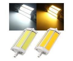 R7S 118MM 10W COB SMD White/Warmwhite LED Flood Light Spot Corn light Lamp Bulb AC 85-265V