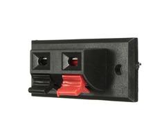 2pcs Audio Speaker Terminals Test Spring Terminals Clip AC 50V 3A