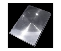 Full Page PVC Fresnel Lens Magnifier Loupe Sheet Card For Reading DIY 297X210mm