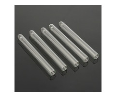 5pcs 100mm Pyrex Glass Blowing Tubes Wall Test Tube