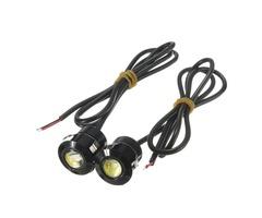 12V 9W LED Eagle Eye Lamp Decoration Daytime Running White Light DRL