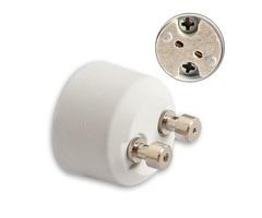 GU10 to MR16 Adapter Socket Base Halogen Light Bulb Lamp Converter Holder