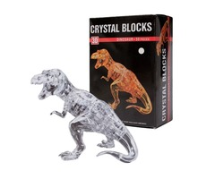 Crystal Puzzle 3D Dinosaur 50pcs Jigsaw Funtime Kid's Brain Teaser Game