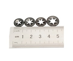 3mm 4mm 5mm 6mm Plum Clamp Flange Shaft Positioning Meson Push On Fasteners Locking Speed Clips
