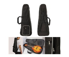 1pcs Black Mandolin Gig Carry Case Bag For Mandolin Music Player